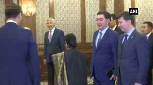 EAM Swaraj arrives in Kyrgyzstan to attend meeting of Council of Foreign Ministers [Video]