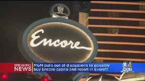 MGM Ends Discussions To Buy Encore Casino [Video]