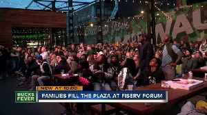 Fans make Game 4 watch party at the Deer District a family affair [Video]