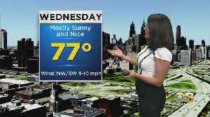 Philadelphia Weather: Still Sunny & Comfy Wednesday [Video]