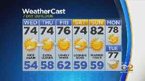 New York Weather: CBS2 5/21 Nightly Forecast at 11PM [Video]