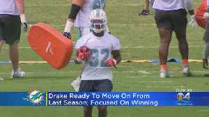 Dolphins RB Kenyan Drake Focused On Winning, Not Personal Accolades Or Stats [Video]