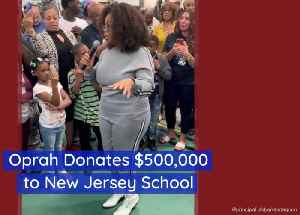 Oprah Is Feeling Charitable This Week [Video]