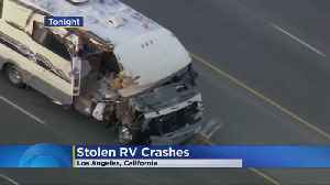 Woman With Dogs Leads Police In Bizarre RV Chase [Video]