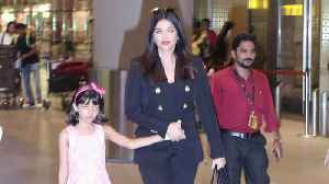 News video: Aishwarya Rai Bachchan, Aaradhya back from Cannes 2019