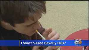 Beverly Hills Takes First Steps In Banning Tobacco Sales [Video]