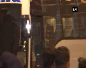 Cricket WC 2019 Indian Team leaves for England from Mumbai airport [Video]