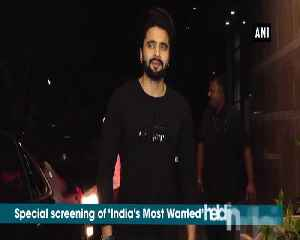 B-town celebs attend special screening of India's Most Wanted [Video]