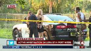 Two people taken into custody in Lora Street investigation [Video]