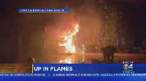 Fort Lauderdale Home Goes Up In Flames [Video]