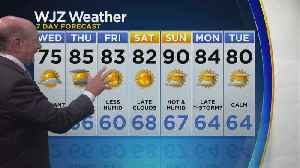 Marty Bass Wednesday Morning Weather [Video]