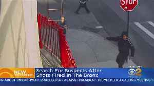 Police Seek Pair After One Opens Fire On Bronx Sidewalk [Video]