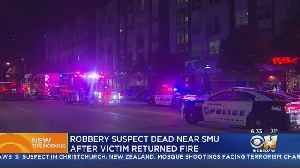 Suspect Fatally Shot After Trying To Rob Man At Apartment Near SMU Campus [Video]
