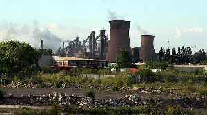News video: British Steel collapses threatening 5,000 jobs hours before Euro election
