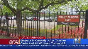 Teacher Carjacked At Whitney Young; One Person In Custody [Video]