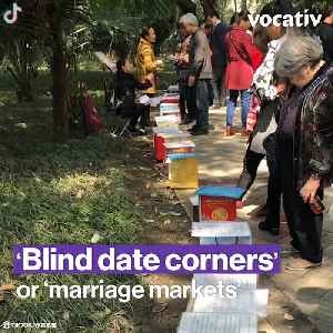 At China's Marriage Markets, Your Parents Set You Up on Your First Date [Video]