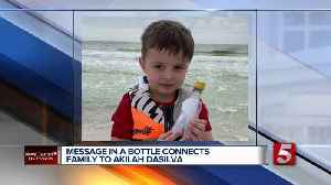 Message in a bottle written to Waffle House victim from sister found by child [Video]
