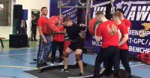 Sickening Footage Shows Moment Russian Powerlifter's Leg Snaps In THREE Places Under 250KG Weight [Video]