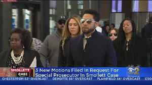 News video: New Motions Filed In Bid For Special Prosecutor For Jussie Smollett Case