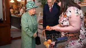 Watch: Security conscious Queen Elizabeth asks if automatic checkouts can be 'diddled' [Video]