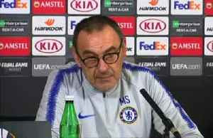 News video: 'My future is Wednesday', says Chelsea manager Sarri