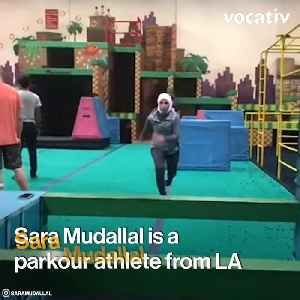 This Bad-ass Parkour Athlete Is Breaking Stereotypes With Her Hijab [Video]