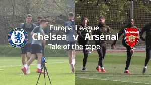 Chelsea v Arsenal Europa League final: Tale of the tape [Video]