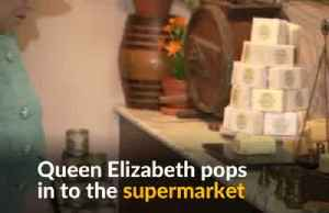 British monarch spotted at local supermarket [Video]