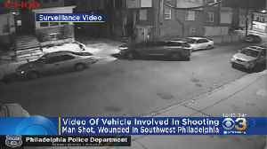 Surveillance Video Released In Southwest Philadelphia Shooting [Video]