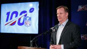 60-second recap of Roger Goodell's press conference at Spring League Meeting [Video]