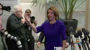 News video: Speaker Nancy Pelosi Updates Democrats On Investigation Of President Trump