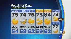New York Weather: 5/22 Wednesday Afternoon Forecast [Video]