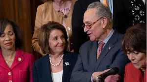 Nancy Pelosi And Chuck Schumer Leave White House Meeting Angry