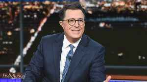 CBS' 'Late Show With Stephen Colbert' Claims No.1 Ranking in Late Night | THR News [Video]