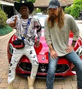 News video: Lil Nas X Gifts Billy Ray Cyrus a Maserati Following 'Old Town Road' Success