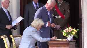 The highlights: Charles and Camilla tour Ireland