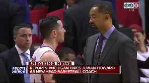 News video: Juwan Howard reportedly agrees to become Michigan head coach
