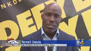 Terrell Davis Excited Champ Bailey Will Be Inducted Into Broncos Ring Of Fame [Video]