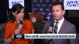 NFL Network Insider Ian Rapoport: Los Angeles not expected to be option for 2022 NFL Draft host right now [Video]