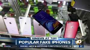 People intentionally buying fake cell phones? [Video]