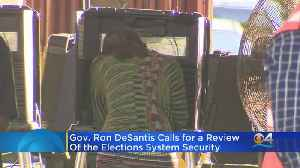 Florida Governor Ron DeSantis Looking To Review Elections Systems Security [Video]