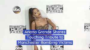 Ariana Grande Uses Instagram To Honor People In Manchester Attack [Video]