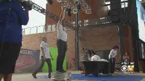 CBS 11 Meteorologists Entertain, Educate At Rangers Weather Day At Texas Live [Video]