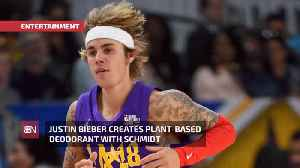 Justin Bieber Makes An Eco-friendly Deodorant [Video]