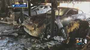 Exotic Cars Destroyed In Lauderdale Harbors Mansion Fire [Video]