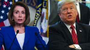 News video: Pelosi Accuses Trump of Engaging in a 'Cover-up', President Responds 'I Don't Do Cover-ups'