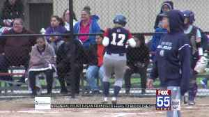 Prep Softball: Bellmont Blows by Marion in Sectionals [Video]