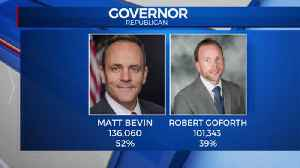 Gov. Matt Bevin wins [Video]