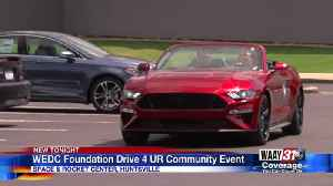 WEDC Foundation Drive 4UR Community event [Video]
