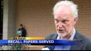 Recall papers served for Chico City Council members [Video]